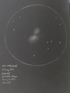 M51 whirlpool galaxy NGC5195
